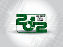 Happy new year 2012 background. Abstract vector happy new year 2012 background Stock Photography