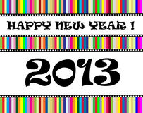 Happy new year 2013 Royalty Free Stock Image