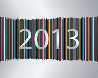 Happy new year 2013. New year card Royalty Free Illustration