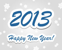 Happy New Year 2013. Hapy New Year 2013. Hapy New Year 2013 concept Stock Images
