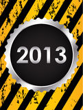 Happy new year 2013. Background Royalty Free Stock Photos