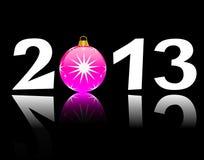 Happy new year 2013. Background stock illustration