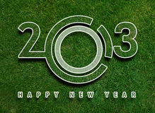 Happy new year 2013. New year conceptual image royalty free illustration
