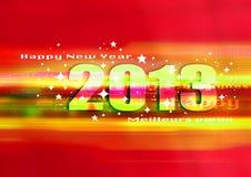 Happy new year 2013. Good and happy new year 2013, festive world Royalty Free Stock Photos