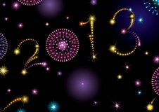 Happy New Year 2013! Stock Photography