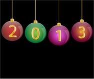 Happy new year 2013. Illustration vector illustration