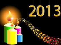 Happy new year 2013. Illustration Stock Illustration