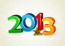 Happy new year 2013. Vector illustration of Happy new year 2013 stock illustration