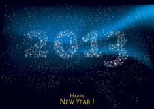Happy new Year 2013. Background illsutration, vector Royalty Free Stock Images