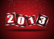 Happy New Year 2013. Clip-art Stock Images