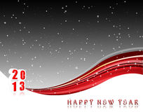 Happy New Year 2013. Vector Happy New Year illustration for 2013 Stock Photos