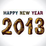 Happy new year 2013 Stock Images