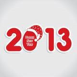 Happy new year 2013. Stock vector Stock Image