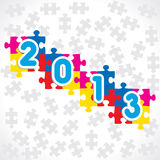 Happy new year 2013. Stock vector Royalty Free Illustration