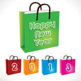 Happy new year 2013. Stock vector Stock Photos