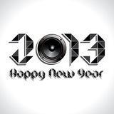 Happy new year 2013. Stock vector Royalty Free Stock Photos