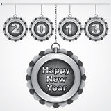 Happy new year 2013. Stock vector Stock Images