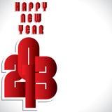 Happy new year 2013. Stock vector Stock Illustration