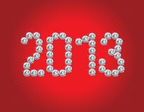 Happy New Year 2013! Royalty Free Stock Photos