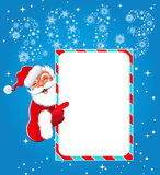 Happy new year 2013. Christmas. Santa Claus. For your design royalty free illustration