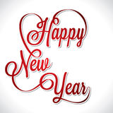 Happy new year 2013 creative design Stock Image