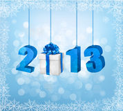 Happy new year 2013! New year design template Stock Images