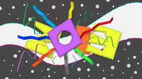 2013 Anniversary Celebration Text Word Number. Artistic 2013 background for the celebration on any anniversaries, occasion stock illustration