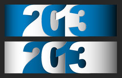 Happy New Year 2013 vector card Stock Photo