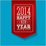 Happy new year 2014. Vector Royalty Free Stock Photos