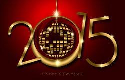Free Happy New Year 2015 Stock Images - 46975724