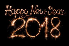 Free Happy New Year 2018 Royalty Free Stock Photos - 91110168