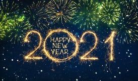 Free Happy New Year 2021 Stock Image - 200893531