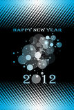 Happy New Year. 2012 Happy New Year decoration background Stock Photography