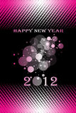 Happy New Year. 2012 Happy New Year decoration background Stock Photo