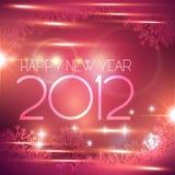 Happy new year. Beautiful shiny happy new year vector background Royalty Free Stock Photo
