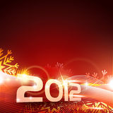 Happy new year. Vector 2012 happy new year background design Royalty Free Stock Photo