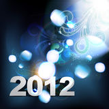 Happy new year. Vector 2012 happy new year background royalty free illustration