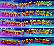 Happy New Year Royalty Free Stock Photo
