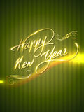 Happy new year. Artistic happy new year background Stock Photography