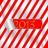 Happy new year. Christmas background, happy new year,2013 on red background Stock Photography