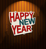 Happy New Year. Background illustration Royalty Free Stock Photo