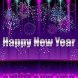 Happy New Year. Illustration vector background eps10 Stock Photos