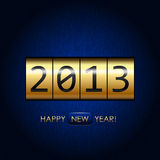 Happy New Year!. Digital Happy New Year! background Stock Images