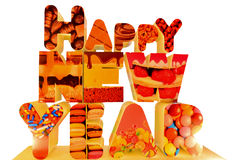 Happy New year. Happy 2013 to all of them good Royalty Free Stock Image