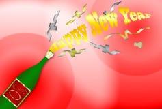 Happy New Year 3 Stock Photos