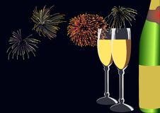 Happy New Year. In 2008 Stock Photography