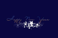 Happy New Year. Illustration of the new year 2008 Royalty Free Stock Images
