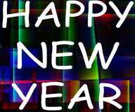 Happy New Year 41. A conceptual image of the text celebrating a happy new year Stock Images
