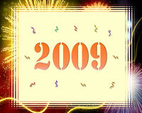 Happy new Year. Illustration-happy new year -2009 Stock Photography
