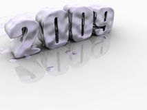 Happy New Year. What will the new year bring to us Royalty Free Stock Photography